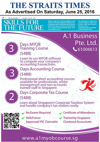 A1myobcourse advertisement